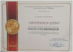 certificado de reconocimiento ortopedia ejido