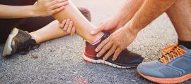 Recuperación esguince de tobillo