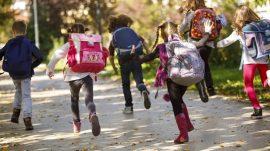 Peso mochilas para niños