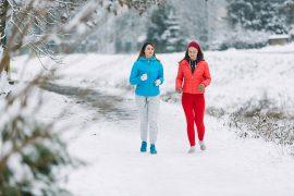 Practicar deporte en invierno